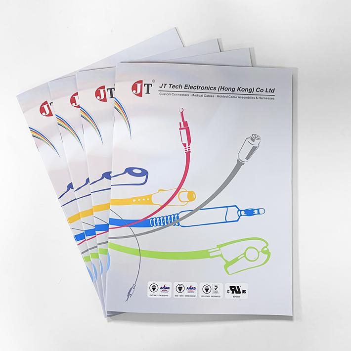 线材公司画册、记事本